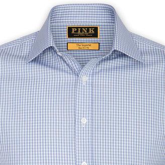 Thomas Pink Shafto Stripe Shirt - Double Cuff