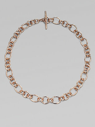 Ippolita 18K Gold Chain Link Necklace