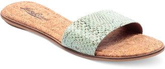 Lucky Brand Corina Flat Slide Sandals