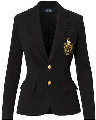 Polo Ralph Lauren Custom-Fit Fleece Blazer $265 thestylecure.com