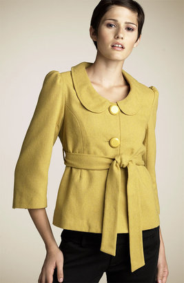 Coco & Chase Two Button Swing Coat