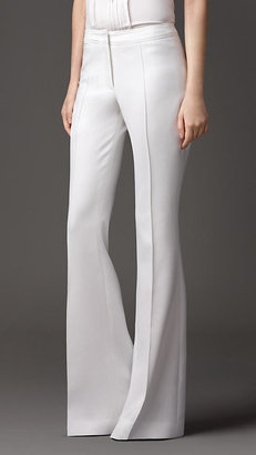 Burberry Tailored Flared Trousers