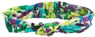 Aeropostale Purple Iris Printed Headband