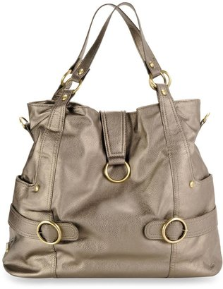 Timi & Leslie Hannah Diaper Bag in Pewter