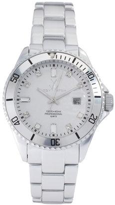 Toy Watch Silver Steel Strap Watch