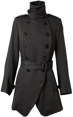 Ann Demeulemeester Cotton-blend Trench Coat
