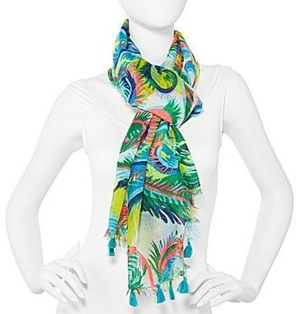 JCPenney Circus Swirl Scarf