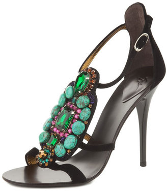 Giuseppe Zanotti Cam Nero Sandal Women