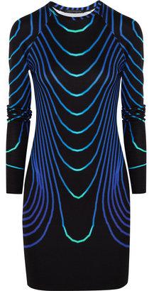 Christopher Kane Printed jersey dress