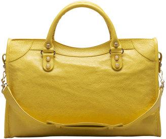 Balenciaga Giant 12 Golden City Bag, Curry