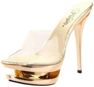 Pleaser USA Women's Blondie-601CH/C/G Platform Sandal