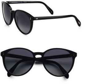 Oliver Peoples Retro-Inspired Round Plastic Sunglasses