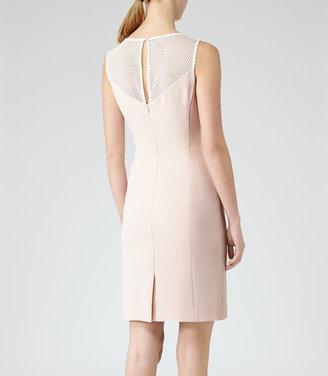 Reiss Lansky LACE NECKLINE DRESS