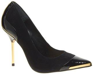Carvela Suede Adara Point Single Sole Court Shoes