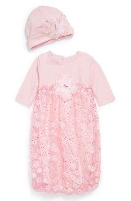 cachcach Gown & Hat (Baby Girls)