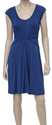 Max Studio Jersey Flared Dress