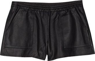 Joie Jourdina Leather Shorts