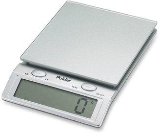 Polder Glass Top 11-lb. Digital Food Scale
