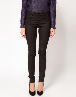Oasis Biker Coated Jean