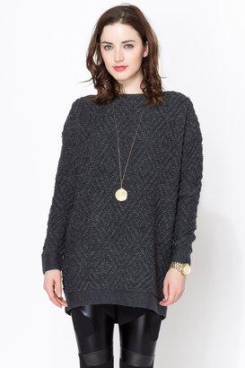 Maison Scotch Oversized Fit Sweater