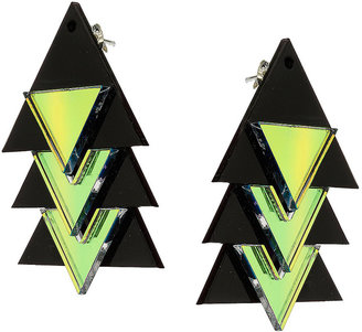 Topshop Sarah Angold For Freedom Triangle Earrings
