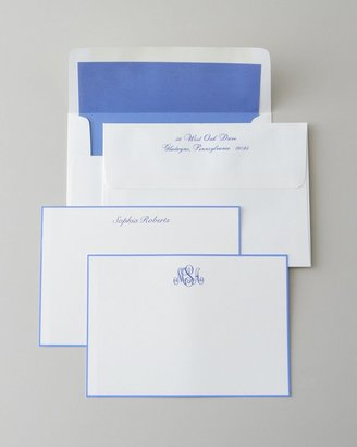 Periwinkle-Bordered Cards
