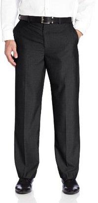 Geoffrey Beene Men's Cross Plaid Modern Fit Flat Front Dress Pant