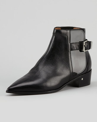 Laurence Dacade Ed Point-Toe Chelsea Ankle Boot