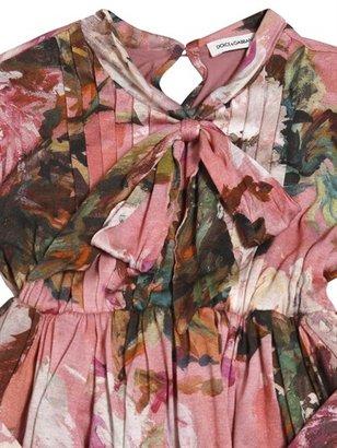 Dolce & Gabbana Printed Jersey Dress
