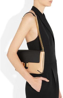 Chloé Amelia leather clutch