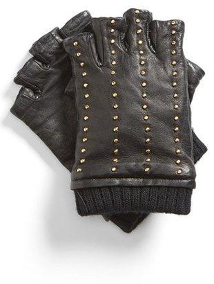 MICHAEL Michael Kors Studded Fingerless Gloves