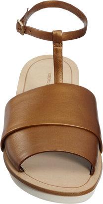 Roberto Del Carlo Double Band T-Strap Sandal