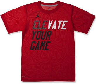 Nike Jordan Kids T-Shirt, Boys Dri-Fit Elevate Your Game Tee