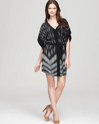 Akiko Dress - Etch Print Kimono Silk