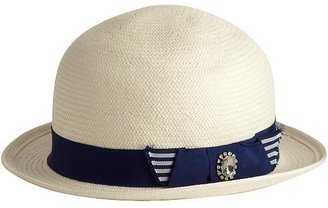 Juicy Couture Straw Bowler
