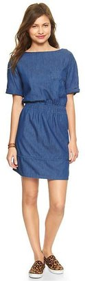 Gap Denim pocket dress