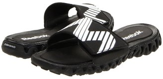 Reebok Kids - ZigNano Slide (Little Kid/Big Kid) (Black/White) - Footwear