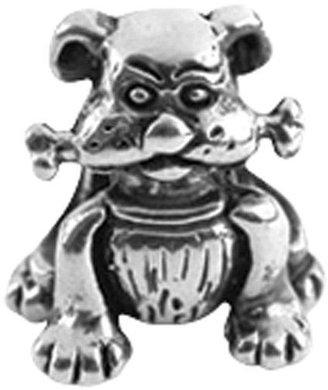 Prerogatives Sterling Dog with Bone Bead