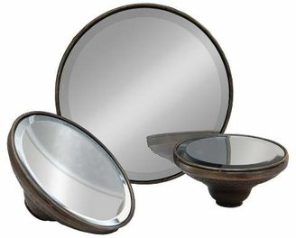 VIP Home & Garden Metal Decorative Mirror Set 3pc