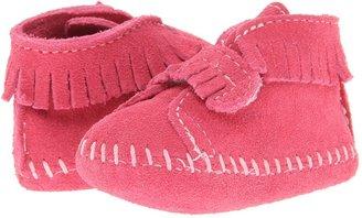 Minnetonka Kids - Front Strap Bootie Girls Shoes