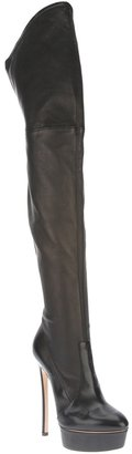 Casadei thigh high stiletto boot