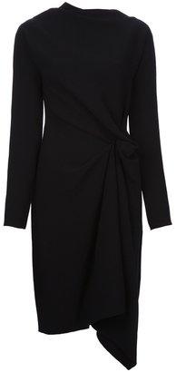Lanvin draped asymmetric dress