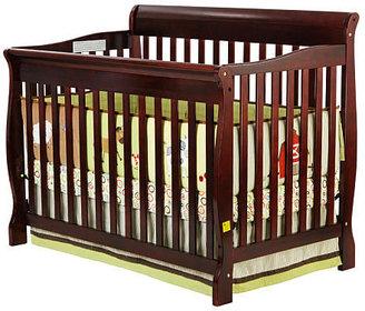 Dream On Me Ashton 4-in-1 Convertible Crib - Cherry