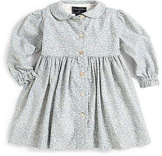 Oscar de la Renta Infant's Floral Corduroy Dress