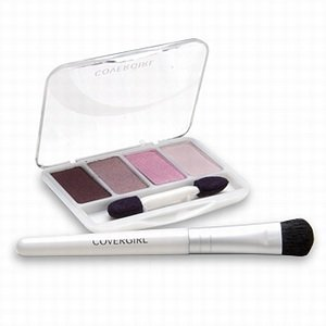 CoverGirl Exact Eyelights Eye Brightening Shadow Palette, Vibrant Browns 700
