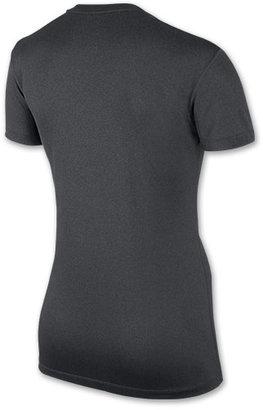 Nike Women's Legend Run Swoosh V-Neck T-Shirt