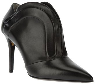 Fendi pointed bootie