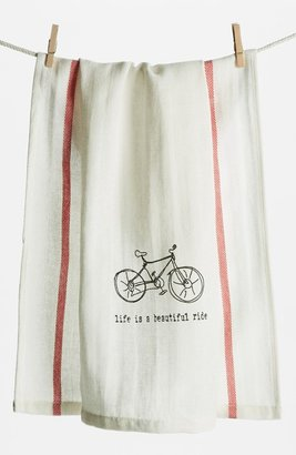 Second Nature By Hand 'Life is a Beautiful Ride' Towel (2 for $16)