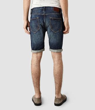 AllSaints Stamp Switch Denim Shorts