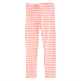 J.Crew Girls' everyday leggings in classic stripe